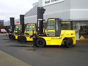 Plant glazing services glass replacement digger dumper laminated toughened on site glazing