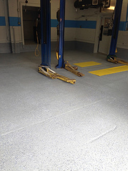 Commercial Flooring with Garage Guard