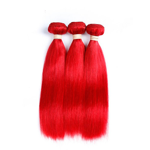 Red Straight Hair bundles