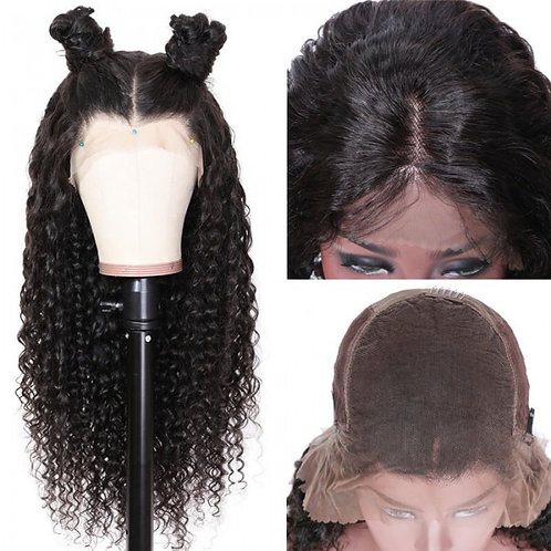 Deep Wave Lace Closure wig 18""