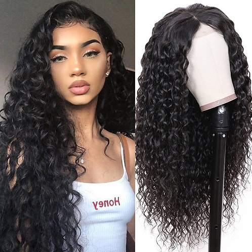 Water wave Lace Front Wig 18""