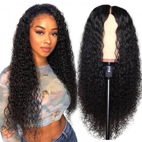 Water Wave Brazilian Lace Closure Wig 20""