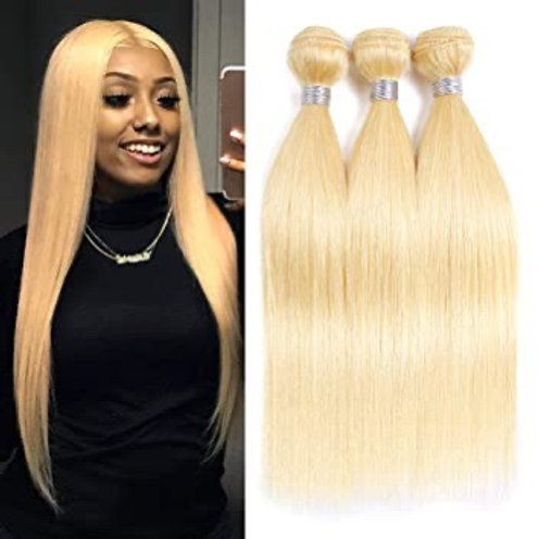 Straight 613 Blonde Weave 10A Grade