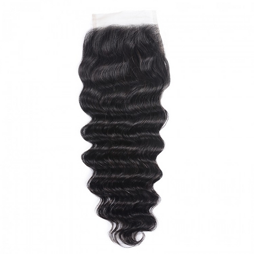 Loose Deep Laced Closure