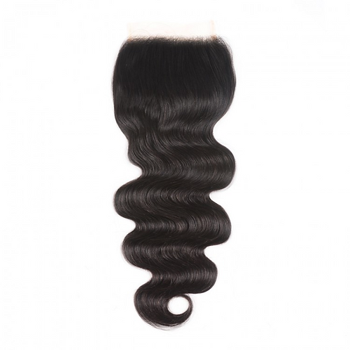 Laced Closure Body Wave Natural Color