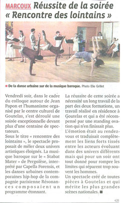 article rencontre lointains_1
