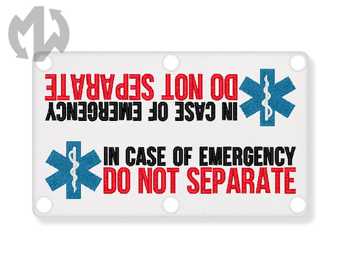 In Case of Emergency w/ Star of Life