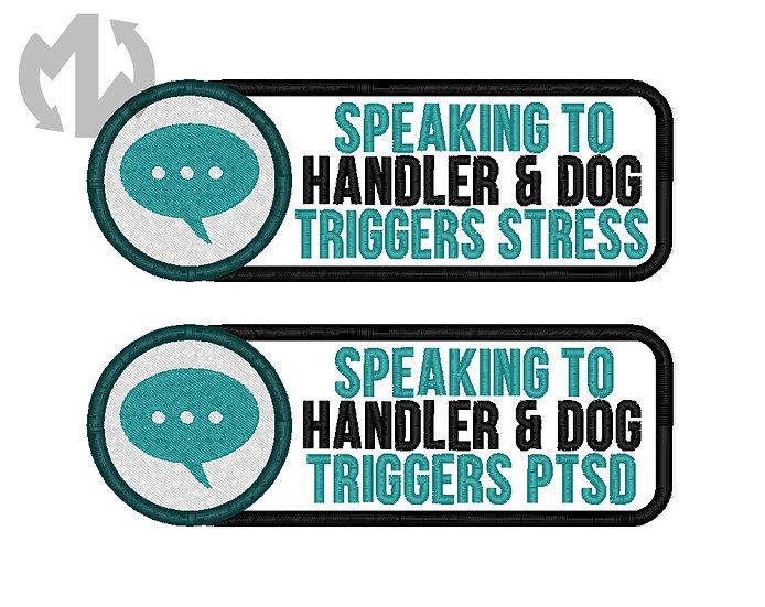 Visible Disabilities - Speaking Triggers Handler