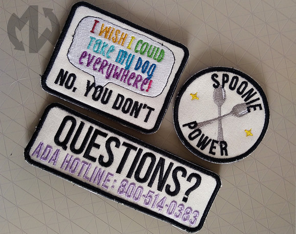 RAINBOW SPOONIE PATCHES