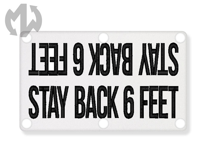 Stay Back 6 Feet