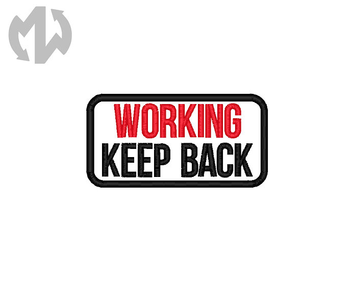 Working Keep Back