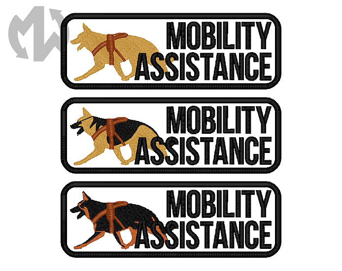 Mobility Assistance German Shepherd