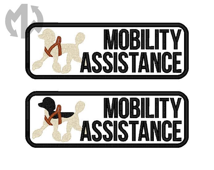 Mobility Assistance Standard Poodle
