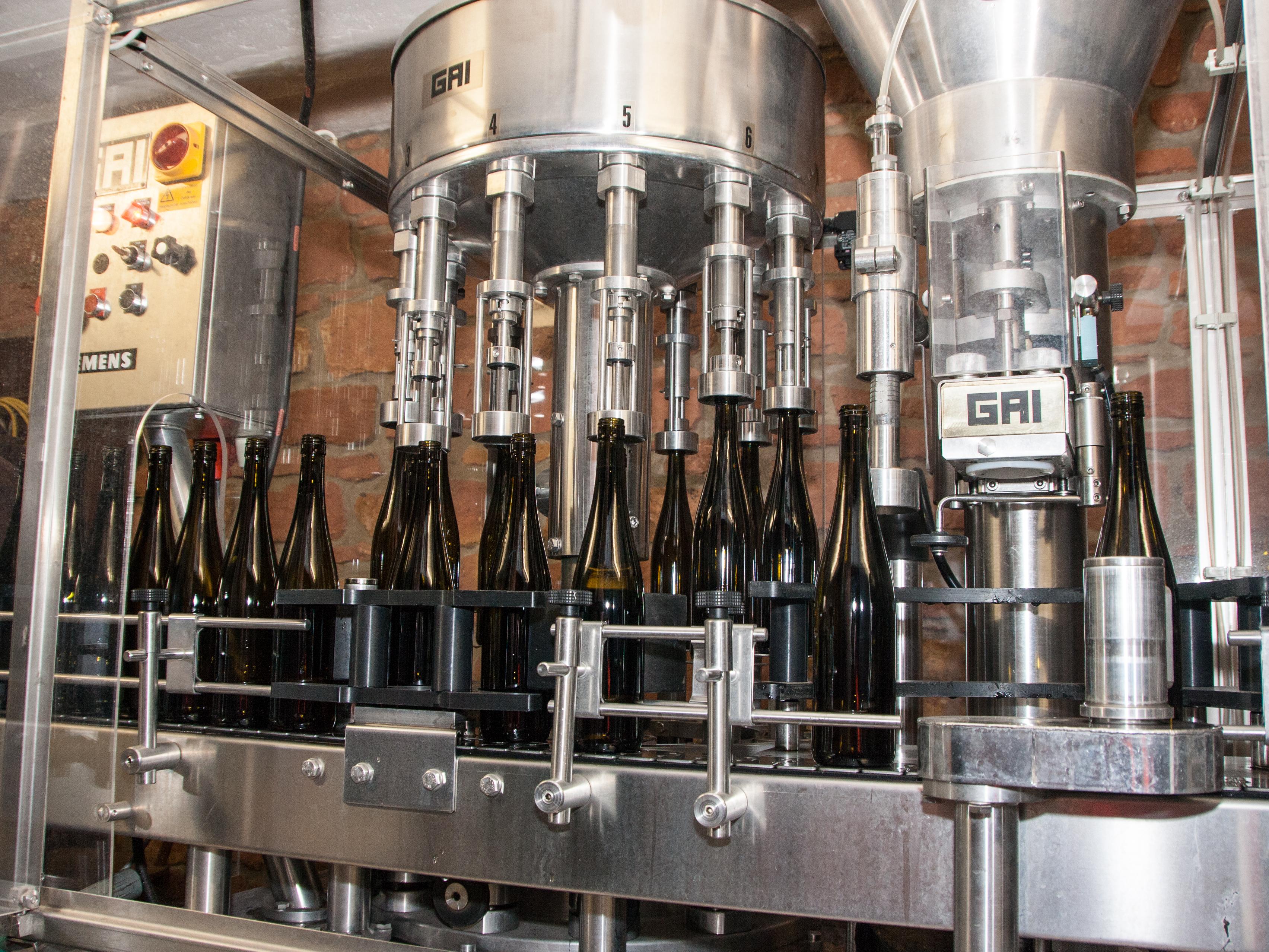 Weinabfüllanlage