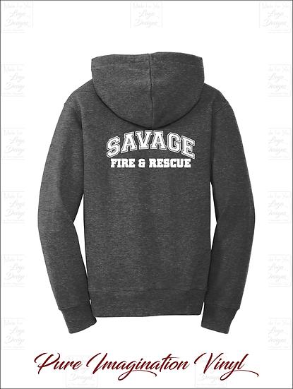 Savage Volunteer Fire Dept. Youth Hoodies 2020