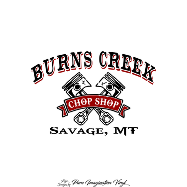 Burns Creek Chop Shop Logo
