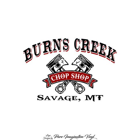 Burns Creek Chop Shop Logo