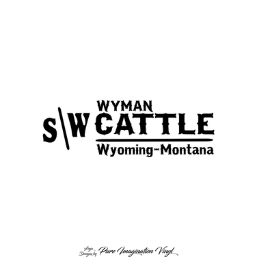 Wyman Cattle Logo