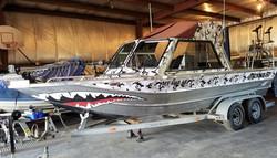 Thunder Jet Boat Wrap