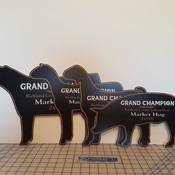Silhouette Cut Signs - Awards