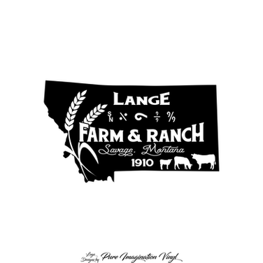 Lange Farm & Ranch Logo