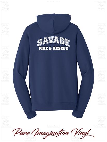 Savage Volunteer Fire Dept. Unisex Hoodies 2020
