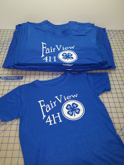 Fairview 4H Club Shirts