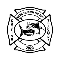 Savage Fire Catfish Tournament Logo 2020