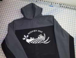Designed Logo On Jacket