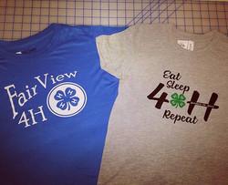 4H Club Shirts