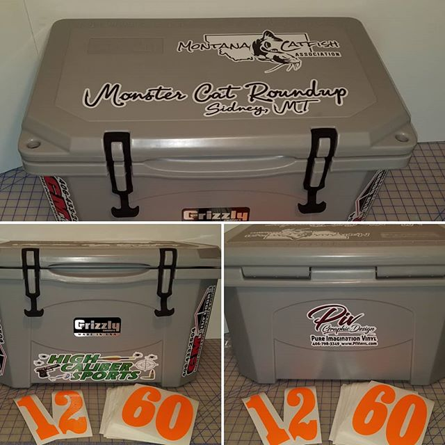 Customized Cooler & Team Numbers