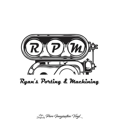 Ryans Porting & Machining Logo