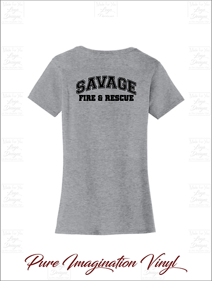 Savage Fire Dept. Ladies T-Shirts 2020