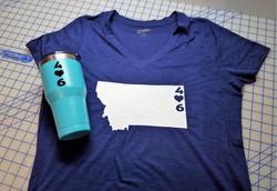 Montana 406 Shirt & Mug