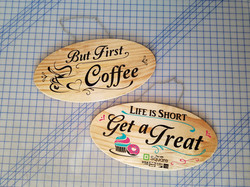 Custom Coffee Shop Signs