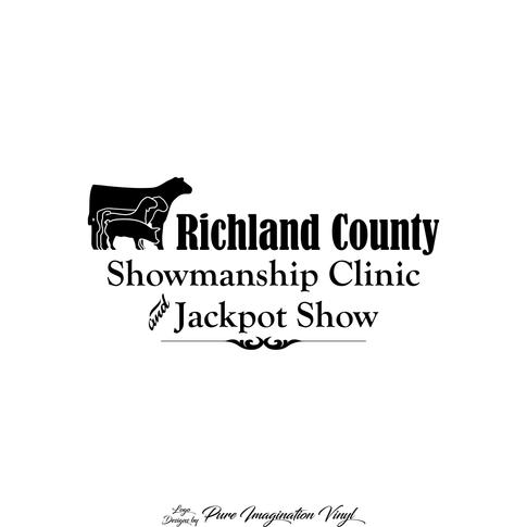 Richland County Livestock Jackpot Logo