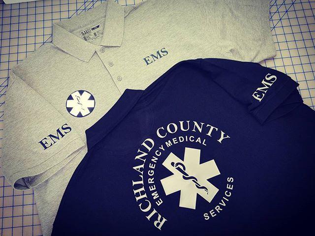 Richland County EMS Work Shirts