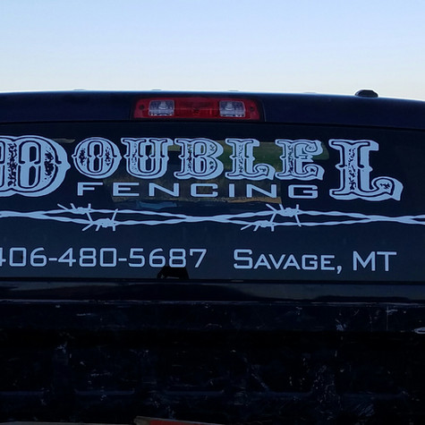 Vehicle Business Vinyl Decals