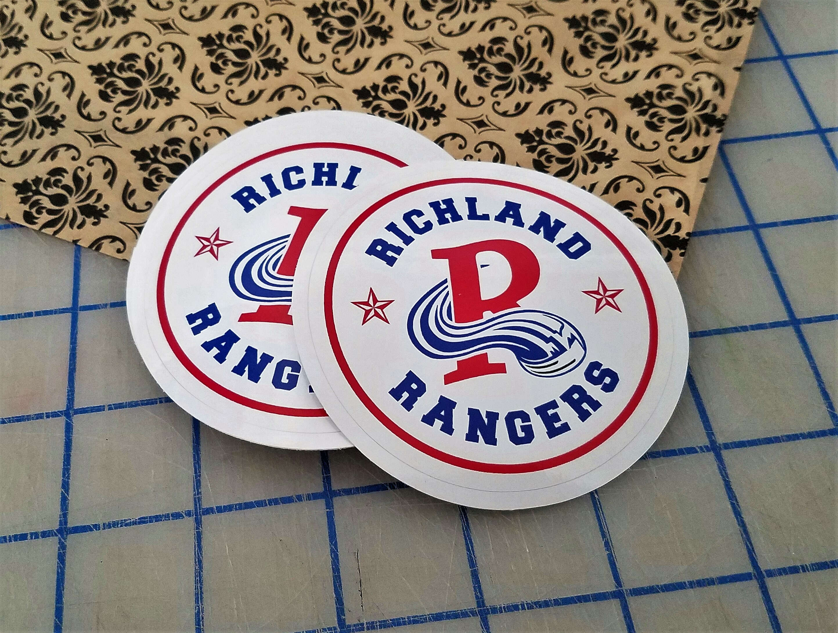 Ranger Hockey Decals