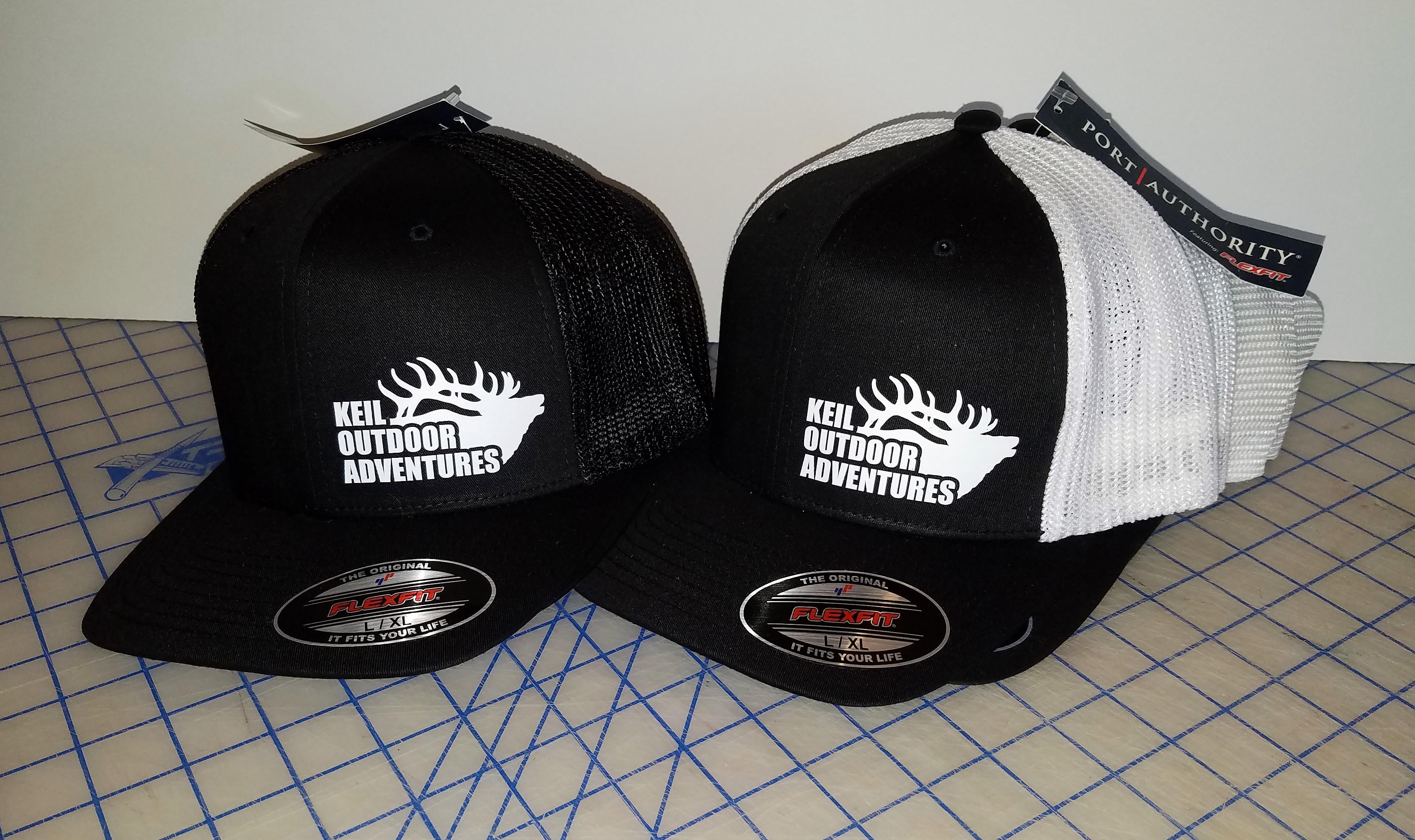 Custom Designed Logo on Hats