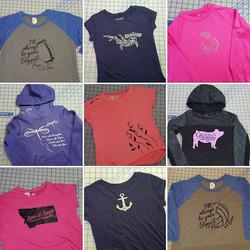 Shirts, Shirts & More Shirts!!