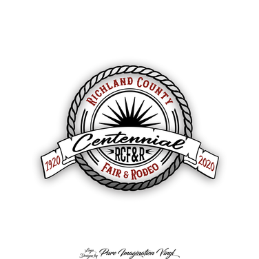 Richland County Fair Centennial Logo