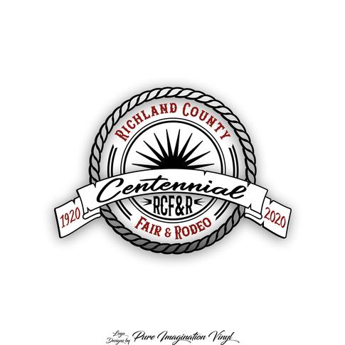 Richland County Fair Centennial Logo
