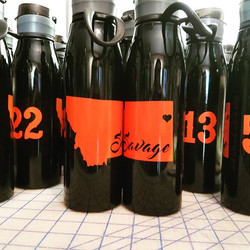 Customized Water Bottles.