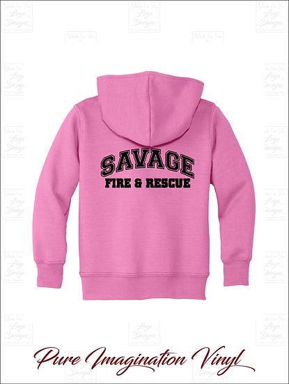 Savage Volunteer Fire Dept. Toddler Hoodies 2020