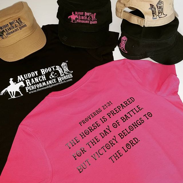 Customized T-shirts & Hats.