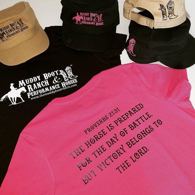 Customized T-shirts & Hats.