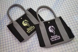 Designed Logo On Purses