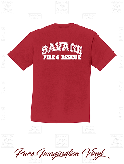 Savage Fire Dept. Youth T-Shirts 2020