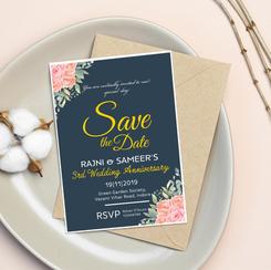 Wedding Anniversary Invite